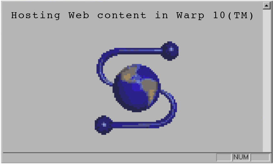 Hosting Web Content in Warp 10