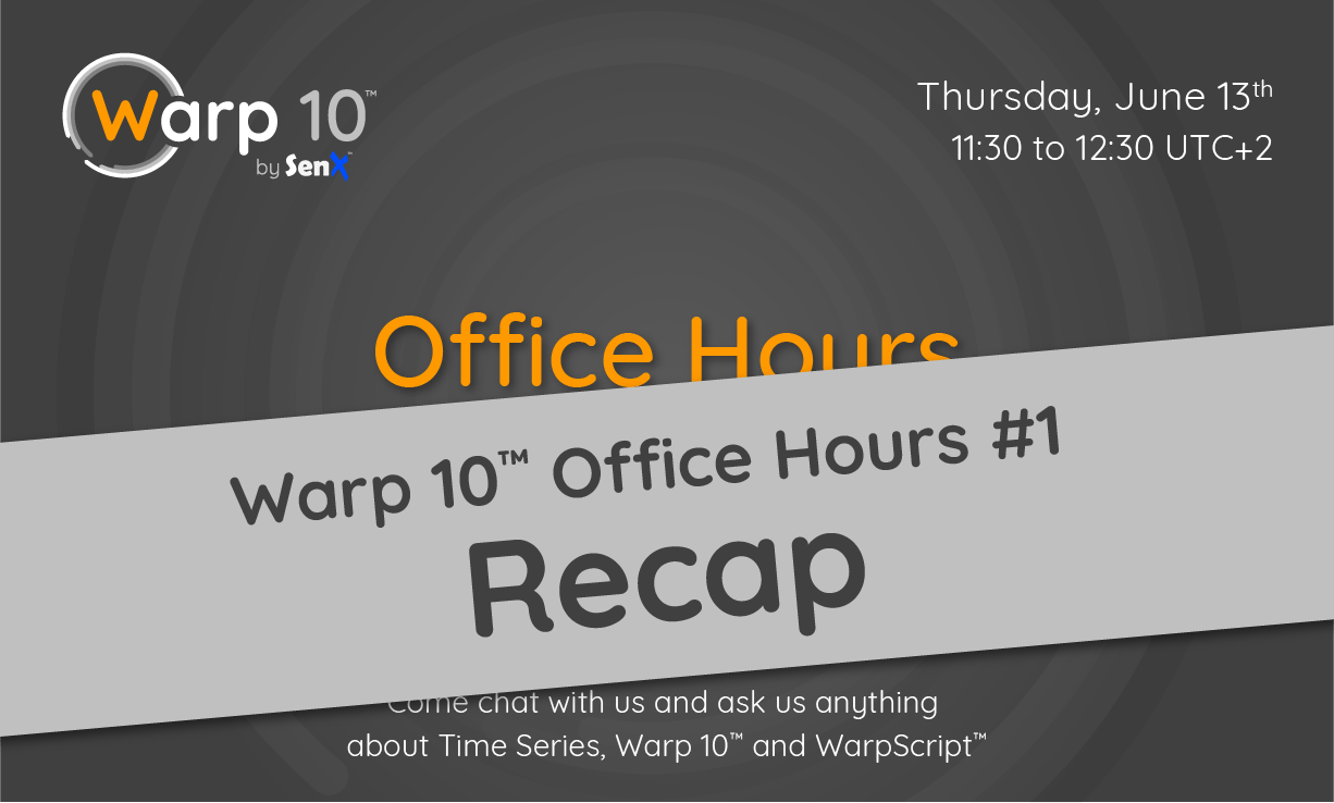 Office Hours #1 Recap