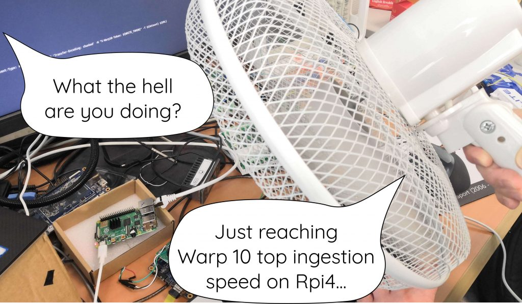 Hold my fan... I will try Raspberry 3 too.