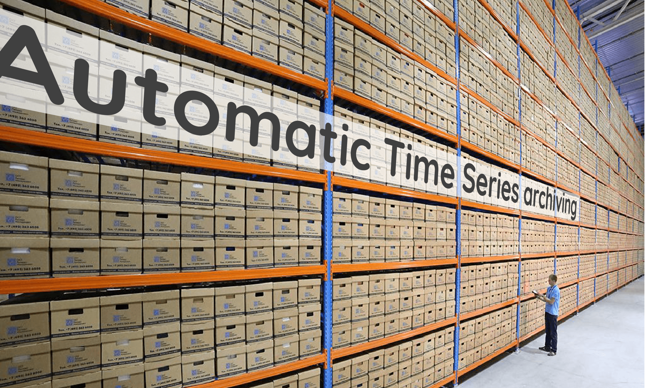 Automatic time series archiving