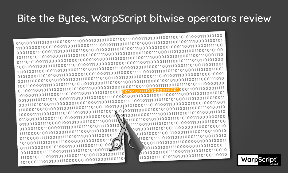 Bite the Bytes, WarpScript bitwise operators review