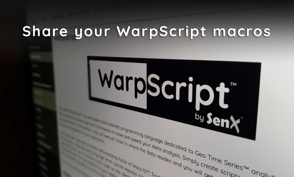 share your WarpScript macros