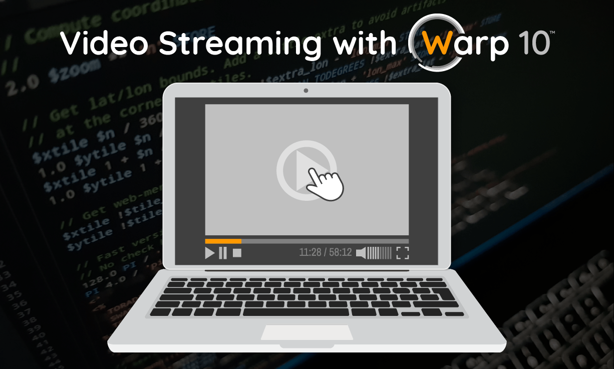 video streaming with Warp 10