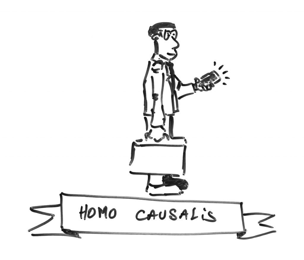 Homo Causalis