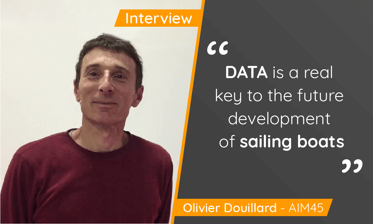Interview Olivier Douillard from AIM45