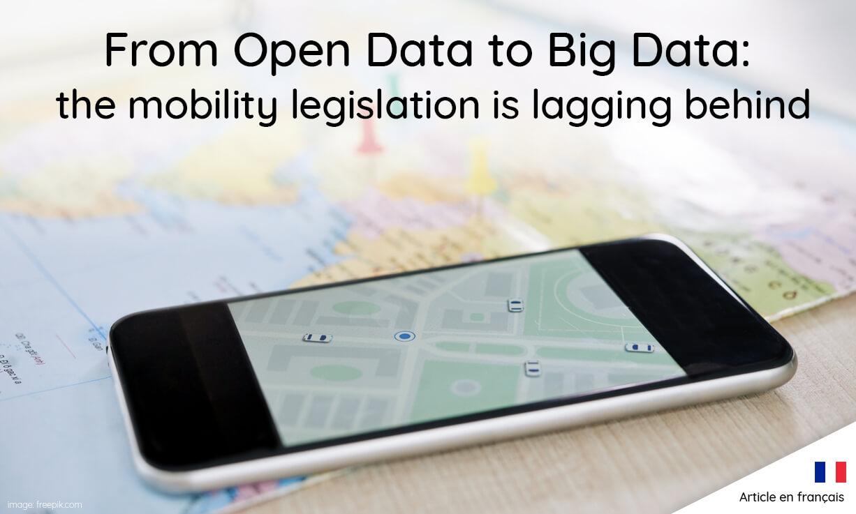 Des données ouvertes au Big Data : un train de retard pour la LOM