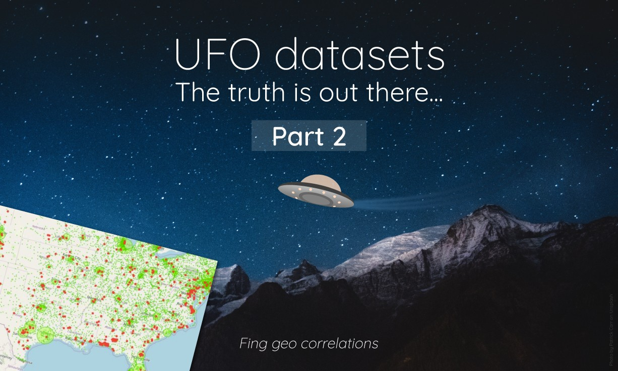UFO datasets: the truth is out there, part2