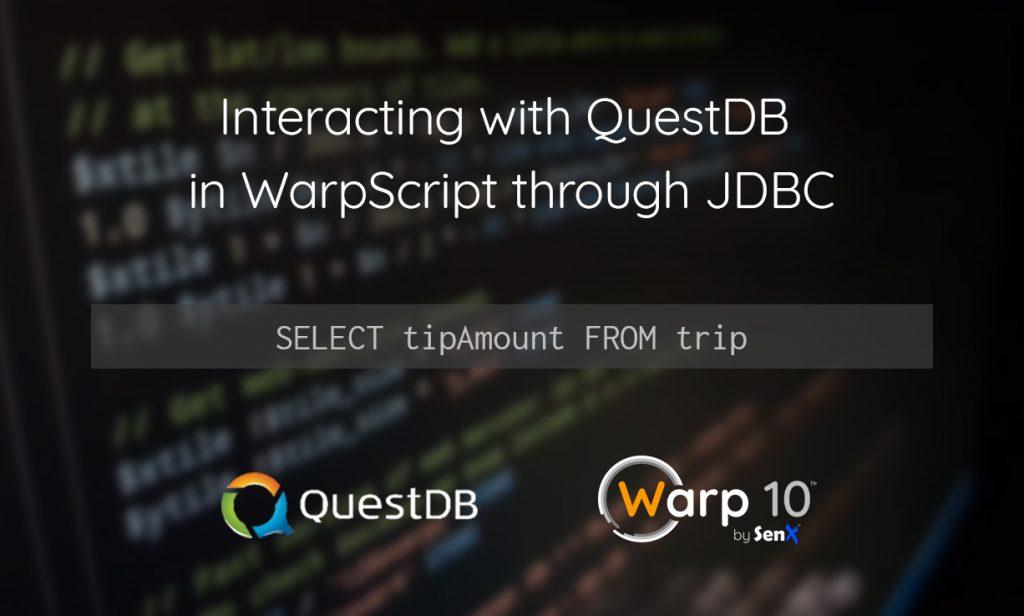 Interacting with QuestDB in WarpScript through JDBC