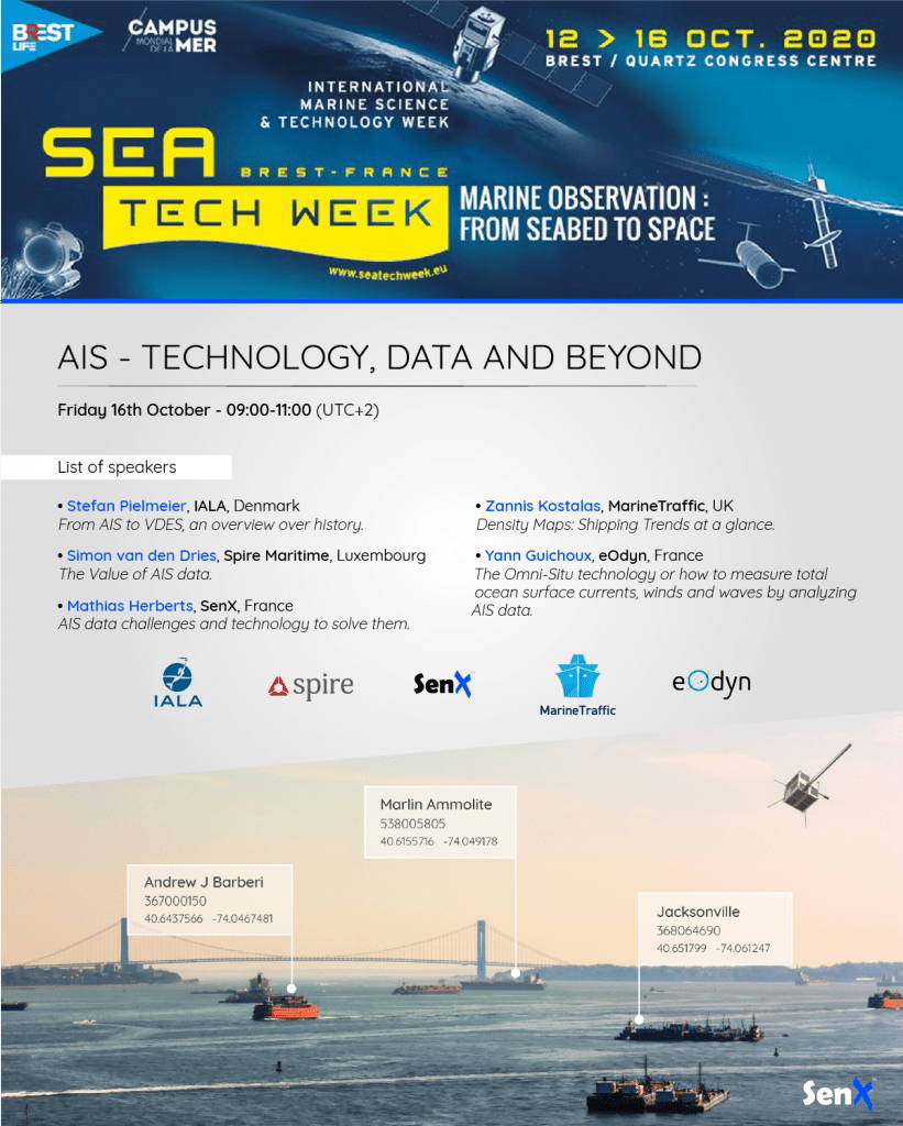 list speakers Sea Tech Week 2020