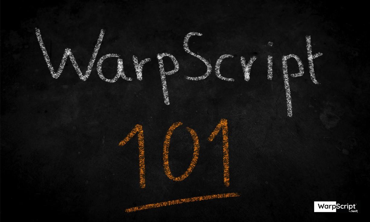 WarpScript 101